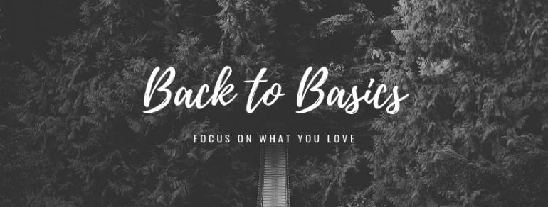 Back to Basics (1)