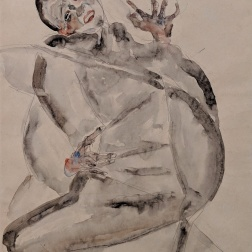 For Art and for My Loved Ones I will Gladly Endure to the End! 1912 - Egon Schiele