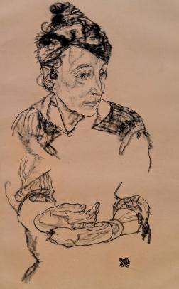 Marie Schiele, 1918 - Egon Schiele