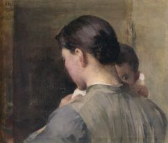 Woman with a Child (1887)